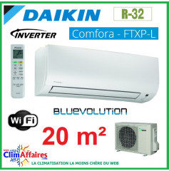 Daikin - COMFORA BLUEVOLUTION - R32 - FTXP20L + RXP20L (2.0 kW)