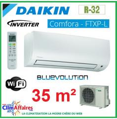 Daikin - COMFORA BLUEVOLUTION - R32 - FTXP35L + RXP35L (3.5 kW)