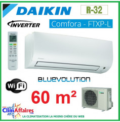 Daikin - COMFORA BLUEVOLUTION - R32 - FTXP60L + RXP60L (6.0 kW)