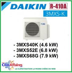 Daikin Climatisation Unités Extérieures Tri-splits - R410A - 3MXS40K / 3MXS52E / 3MXS68G