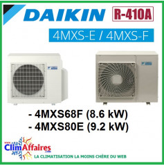 Daikin Climatisation Unités Extérieures Quadri-splits - R410A - 4MXS68F / 4MXS80E