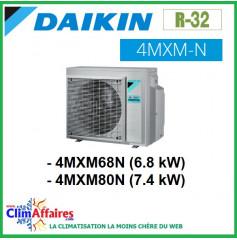Daikin Climatiseur Unités Extérieures Quadri-splits - R32 - 4MXM68N / 4MXM80N