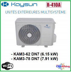Kaysun - Unités Extérieures Multisplit - TRI-SPLITS - R410A - KAM3-62 DN7 / KAM3-78 DN7