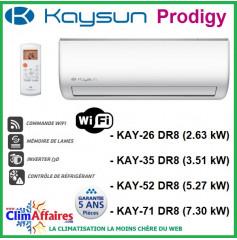Kaysun - Multi-spltis - Unités intérieures - Prodigy - R32 / R410A - KAY-26 DR8 / KAY-35 DR8 / KAY-52 DR8 / KAY-71 DR8