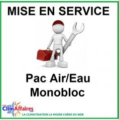 Mise en service - Pompe à chaleur Air / Eau - Monobloc