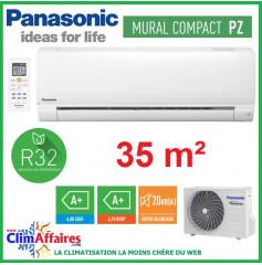 Panasonic Climatisation Mural Inverter - PZ Standard - R32 - CS-PZ35TKE + CU-PZ35TKE (3.5 kW)