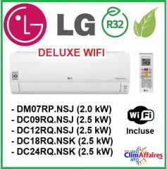 LG Climatisation - Deluxe WIFI - R32 et R410A - Unités Intérieures Multisplits