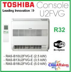 Toshiba Unité Intérieure Multisplits - Console U2FVG - R32 - RAS-B10U2FVG-E / RAS-B13U2FVG-E / RAS-B18U2FVG-E
