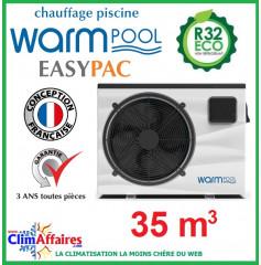 Pompe à chaleur pour piscine WARMPOOL - EASYPAC - EZ35 - 5.4 kW (35 m³)