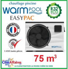 Pompe à chaleur pour piscine WARMPOOL - EASYPAC - EZ75 - 15 kW (75 m³)