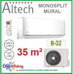 Altech Climatisation Mono-split Réversible - R32 - 12HRFNX + 12HFN8 (3.4 kW)
