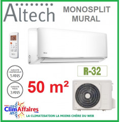 Altech Climatisation Mono-split Réversible - R32 - 18HRFNX + 18HFN8 (4.8 kW)