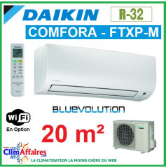 Daikin Climatiseur Inverter Monosplit - COMFORA BLUEVOLUTION - R32 - FTXP20M + RXP20M (2.0 kW)