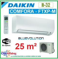Daikin Climatiseur Inverter Monosplit - COMFORA BLUEVOLUTION - R32 - FTXP25M9 + RXP25M (2.5 kW)