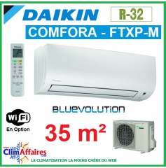 Daikin Climatiseur Inverter Monosplit - COMFORA BLUEVOLUTION - R32 - FTXP35M + RXP35M (3.5 kW)