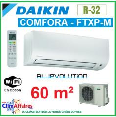Daikin Climatiseur Inverter Monosplit - COMFORA BLUEVOLUTION - R32 - FTXP60M + RXP60M (6.0 kW)