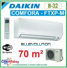 Daikin Climatiseur Inverter Monosplit - COMFORA BLUEVOLUTION - R32 - FTXP71M + RXP71M (7.1 kW)