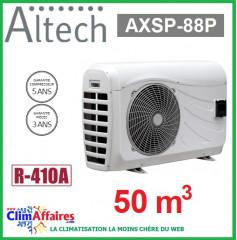 Pompe à chaleur pour piscine ALTECH - AXSP-88P - 8.98 kW (50 m3)