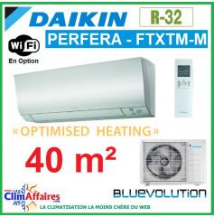 Daikin Climatisation - PERFERA OPTIMISED HEATING BLUEVOLUTION - R32 - FTXTM40M + RXTM40N (4.0 kW)