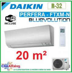 Daikin Climatisation Réversible - PERFERA BLUEVOLUTION - R32 - FTXM20N + RXM20N9 + WIFI (2.0 kW)