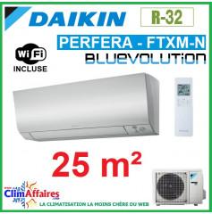 Daikin Climatisation Réversible - PERFERA BLUEVOLUTION - R32 - FTXM25N + RXM25N9 + WIFI (2.5 kW)