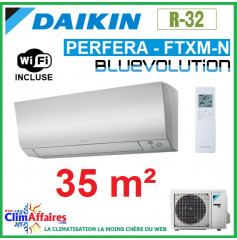 Daikin Climatisation Réversible - PERFERA BLUEVOLUTION - R32 - FTXM35N + RXM35N9 + WIFI (3.5 kW)