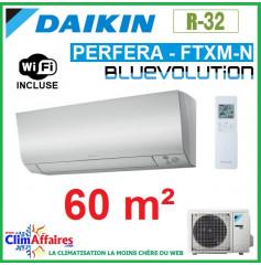Daikin Climatisation Réversible - PERFERA BLUEVOLUTION - R32 - FTXM60N + RXM60N9 + WIFI (6.0 kW)