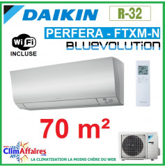 Daikin Climatisation Réversible - PERFERA BLUEVOLUTION - R32 - FTXM71N + RXM71N + WIFI (7.1 kW)