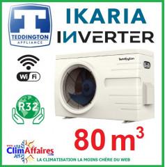 Pompe à chaleur pour piscine TEDDINGTON - IKARIA INVERTER 9 (80 m3)