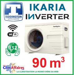 Pompe à chaleur pour piscine TEDDINGTON - IKARIA INVERTER 12 (90 m3)