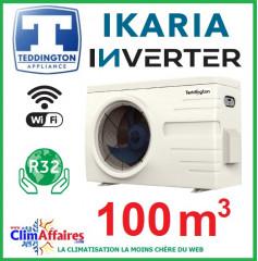 Pompe à chaleur pour piscine TEDDINGTON - IKARIA INVERTER 14 (100 m3)