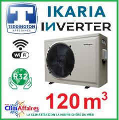 Pompe à chaleur pour piscine TEDDINGTON - IKARIA INVERTER 17 (120 m3)