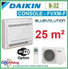 Daikin Climatisation - Console Double Flux Réversible - R32 - FVXM25F + RXM25N9 (2.5 kW)