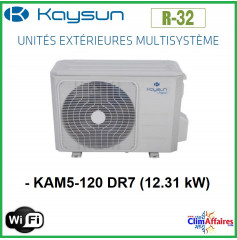 Kaysun - Unités Extérieures Multisplit - TRI-SPLITS - R32 - KAM3-62 DR7 / KAM3-78 DR7.1