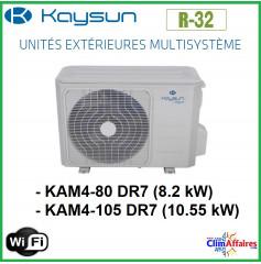 Kaysun - Unités Extérieures Multisplit - QUADRI-SPLITS - R32 - KAM4-80 DR7 / KAM4-105 DR7