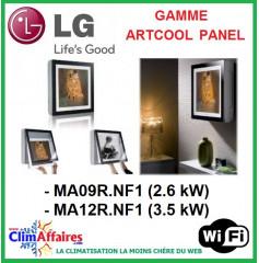 LG Climatisation - Artcool Gallery - R410A et R32 -  Unités Intérieures Multisplits - MA09R.NF1 / MA12R.NF1