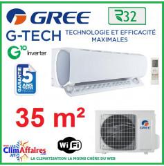 GREE Climatisation Inverter - Monosplit Mural - R32 - G-TECH 12 (3.52 kW)