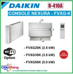 Daikin Unité Intérieure - Console NEXURA - R410A - FVXG25K / FVXG35K / FVXG50K