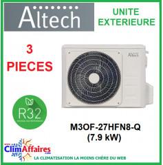 Altech - Unités Extérieures - Tri-splits - R32 - M3OF-27HFN8-Q (7.9 kW)