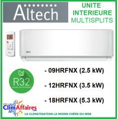 Altech - Unités Intérieures Multisplits - R32 - 09HRFNX / 12HRFNX / 18HRFNX