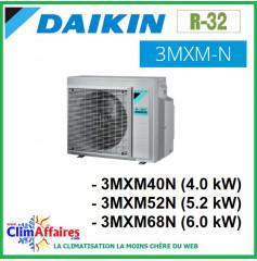 Daikin Climatiseur Unités Extérieures Tri-splits - R32 - 3MXM40N / 3MXM52N / 3MXM68N