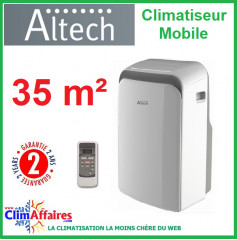 Climatisation Mobile Altech - ATP-035S12 (3,5 kW)