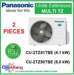Panasonic Climatisation - Unités Extérieures MULTI TZ - BI-SPLITS - R32 - CU-2TZ41TBE / CU-2TZ50TBE