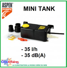 ASPEN - MINI TANK - Pompe de relevage à bac submersible (35 l/h)