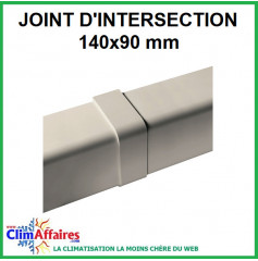 Joint d'intersection pour raccord goulotte 140x90 mm
