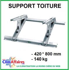 Support unité extérieur sur toiture (140 kg)