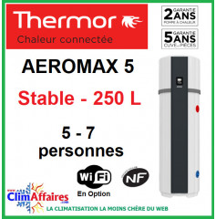 Chauffe Eau Thermodynamique THERMOR - AEROMAX 5 - STABLE - 250 litres
