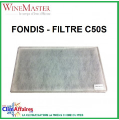 Fondis - Winemaster - Filtre C50S