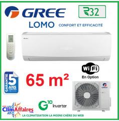 GREE Climatisation Inverter - Monosplit Mural - R32 - LOMO 24 (6.45 kW)