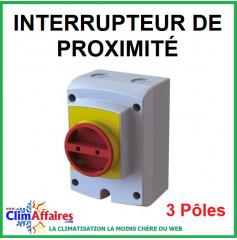 Interrupteur Sectionneur Isolator - 3 pôles - IP 66 (20 à 63 Ampères)
